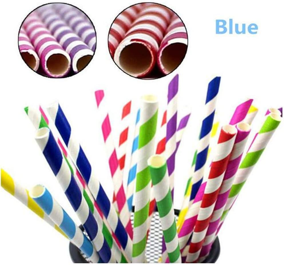 Includes 2 Long Cleaning Brushes Stainless Steel Coloured Reusable Straws REFURBISHHOUSE 10 Pack