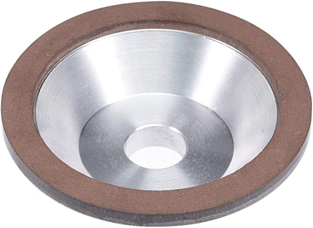 125x10x32x4mm 180  Resin Bond Diamond Grinding Wheel Grinder Plain Type