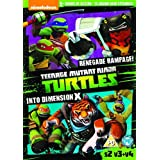 Teenage Mutant Ninja Turtles: Season 2, Vol. 3 Renegade Rampage / Vol. 4 Into Dimension X - DVD 2 Pack
