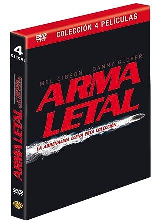 Pack Arma Letal [DVD]: Amazon.es: Mel Gibson, Danny Glover, Joe Pesci, Richard Donner, Mel Gibson, Danny Glover, Richard Donner: Cine y Series TV