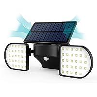 Luz Solar Exterior con Sensor de Movimiento JBHOO 56 Luces LED Foco Solar Exterior IP65 Impermeable 360°Luces Solares…