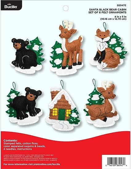 Bucilla Reindeer Felt Topper Kit #84714 Christmas Decoration