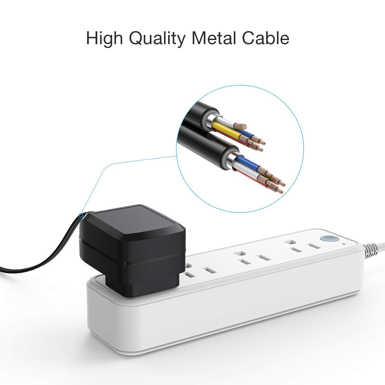 Amazon.com: AC Power Adapter HOMIEE Monitor de presión ...