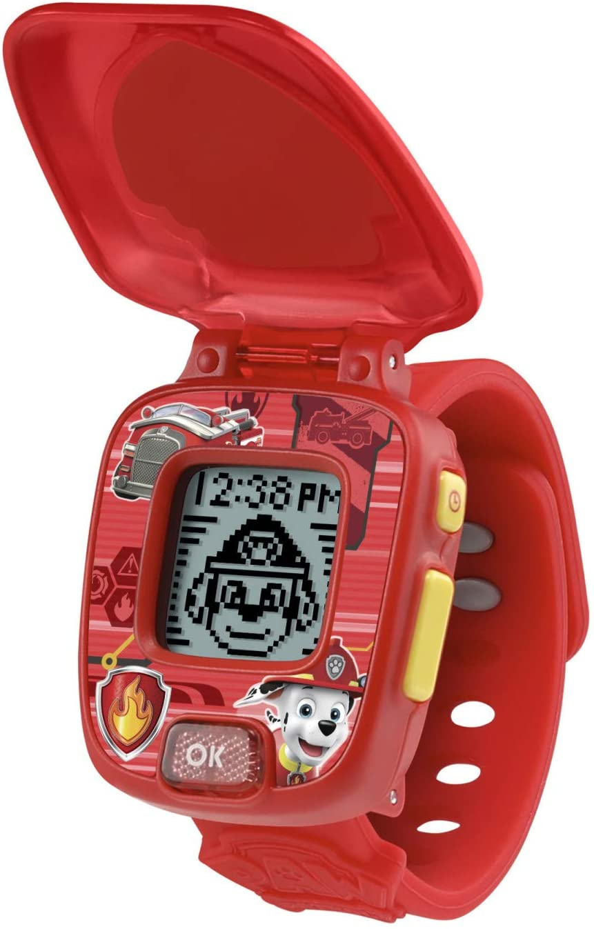 VTech PAW Patrol Marshall Learning Watch, Red