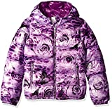 Diesel Little Girls' Outerwear Jacket (More Styles Available), Purple Rose Print a, 4