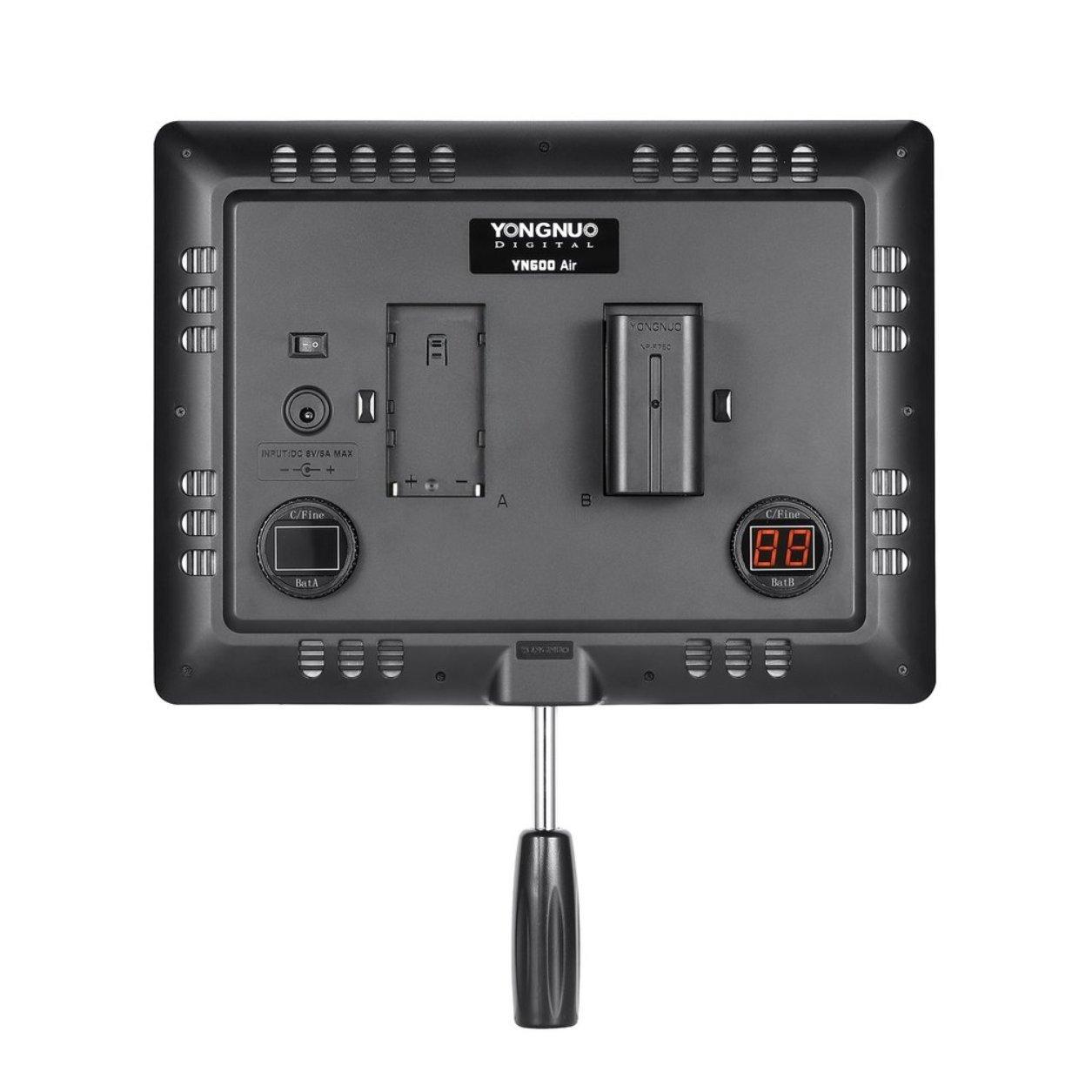 YN600 Air Ultra Thin LED Camera Video Light Photography Studio Lighting Lamp B07KM21T44