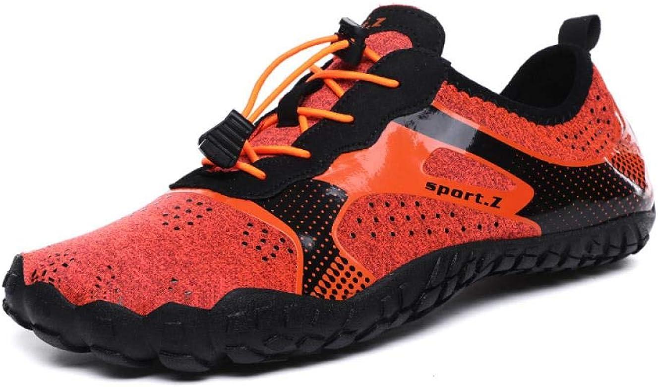 Zapatillas Deportivas al Aire Libre, Zapatillas de natación de Cinco Dedos, Zapatillas multifuncionales, Zapatillas de tamaño Pareja, Rosa, 38: Amazon.es: Zapatos y complementos