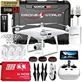 DJI Phantom 4 PRO+ (Plus) Executive Kit V2.0 w/ Nanuk 950 Wheeled Case, 3 Batteries, Thor Charger, CF Props & Guards, Filters, 64GB Card & More
