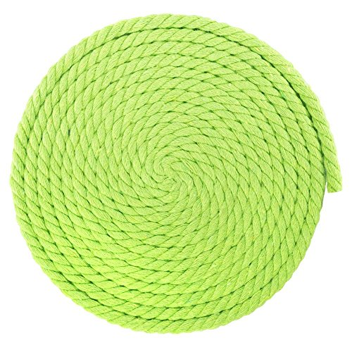 West Coast Paracord Super Soft Triple-Strand 1/4 Inch Twisted Cotton Rope by the foot in 10 Ft, 25 Ft, 50 Ft, 100 Ft Options - 100% Cotton Rope by West Coast Paracord (Image #1)