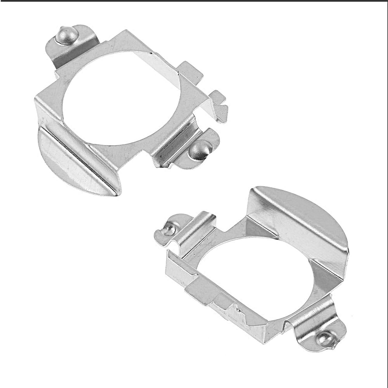 2pcs h7/LED /à ampoule Auto adaptateur Support Base Support Clip pour Audi BMW
