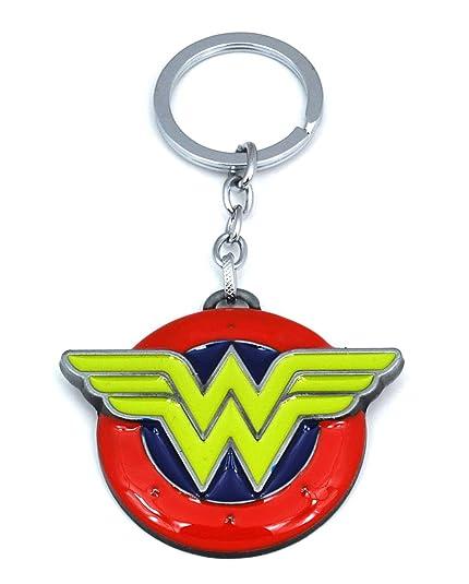 Gemelolandia Llavero Escudo Wonderwoman: Amazon.es: Joyería