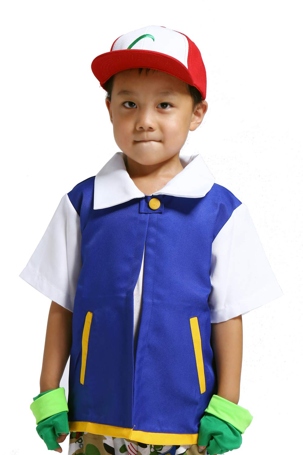 MUFENG Cosplay Costume for Adult Kids,Halloween Hoodie,Jacket Gloves Hat Sets for Trainer