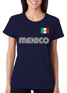 016f9130b Amazon.com  Mexico Soccer Futbol Camisa Mexicana T-Shirt  Clothing
