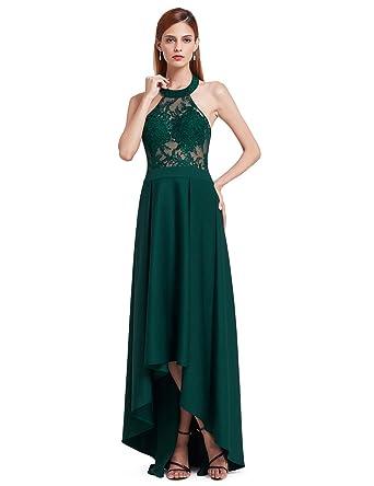 Ever Pretty Womens Elegant Lace Strapless Off Shoulder Floor Length