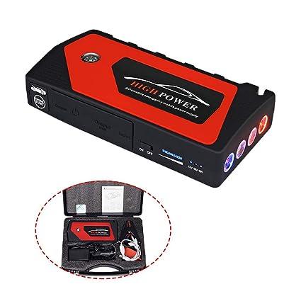 CWWHY Arrancador para automóvil, Cargador de batería ...