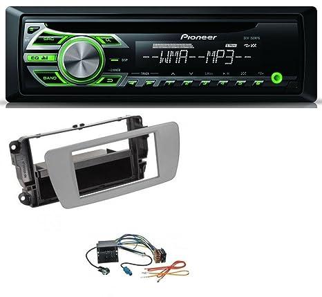 Pioneer deh-150mpg MP3 AUX 1DIN CD Radio de coche para Seat Ibiza (a