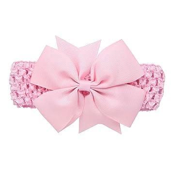 Diademas Bebé , ❤️Amlaiworld Diademas para niñas Accesorios para el cabello bowknot para niñas infantil Banda para el cabello (Rosado): Amazon.es: Belleza