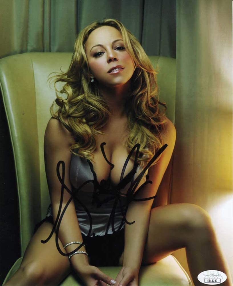 Mariah Carey Hot Signed 8x10 Photo Certified Authentic Jsa Coa At Amazon S Entertainment Collectibles Store