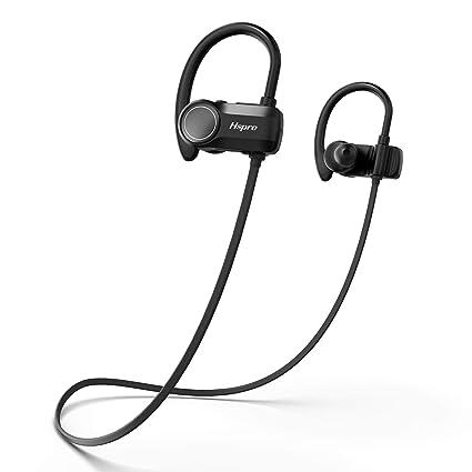 8887b88f7de Bluetooth Headphones, HSPRO Wireless Earbuds, IPX7 Waterproof Sports  Headphones Bluetooth Earbuds, CVC6.