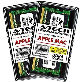 Image of Memory A-Tech 32GB RAM Kit for 2019 iMac (Retina 5K, 27-inch), 2018 Mac Mini - (2 x 16GB) DDR4 2666MHz PC4-21300 / PC4-21333 SODIMM Memory Upgrade Modules