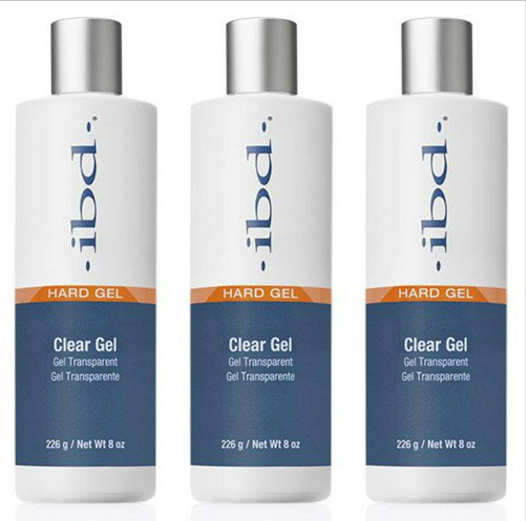 (3 Pack) ibd Clear Gel Refill 8 oz - Clear Gel Refill 61wJUnwjj3L._SL1024_