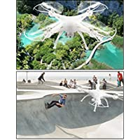 AMA(TM) LiDiRC L15W 4CH HD Camera WiFi FPV 2.4G 6-axis Gyro RC Quadcopter Altitude Hold (White 2)