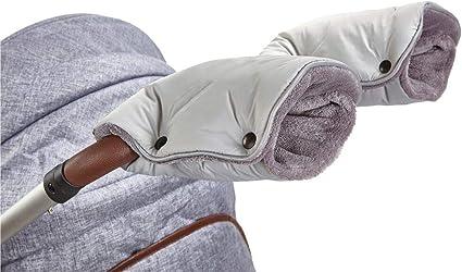 Light Grey//Grey Little Angel Universal Pram and Pushchair Gloves