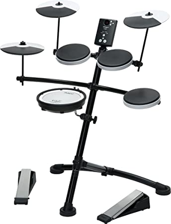 Amazon Com Roland Entry Level Electronic V Drums Set With Mesh Head