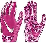 NIKE Adult Vapor Jet 5.0 Breast Cancer Awareness Receiver Gloves 2018 (Pink, Small)