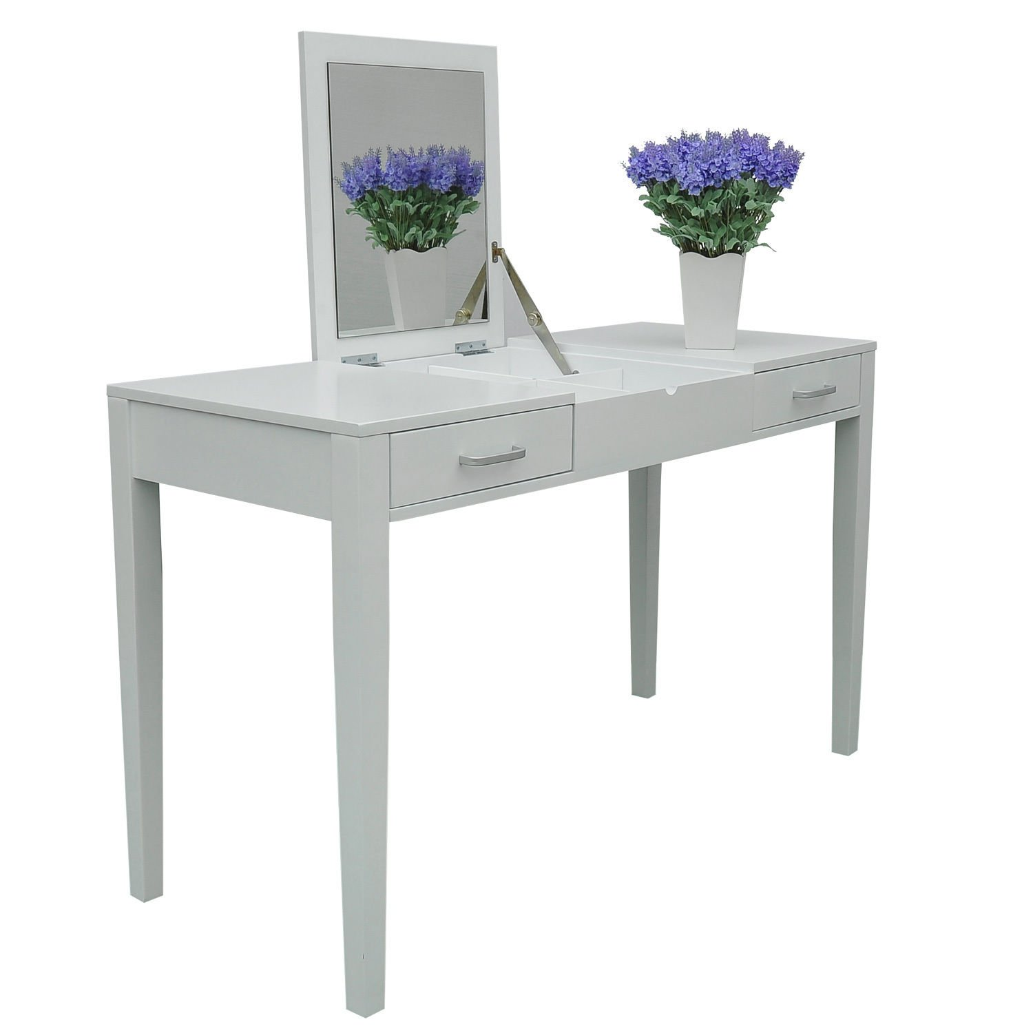 Hom Dressing Table Makeup Table Writing Table Desk with Folding