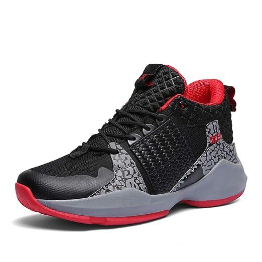 FJJLOVE Zapatos de Baloncesto, Rendimiento no Deslizan los ...