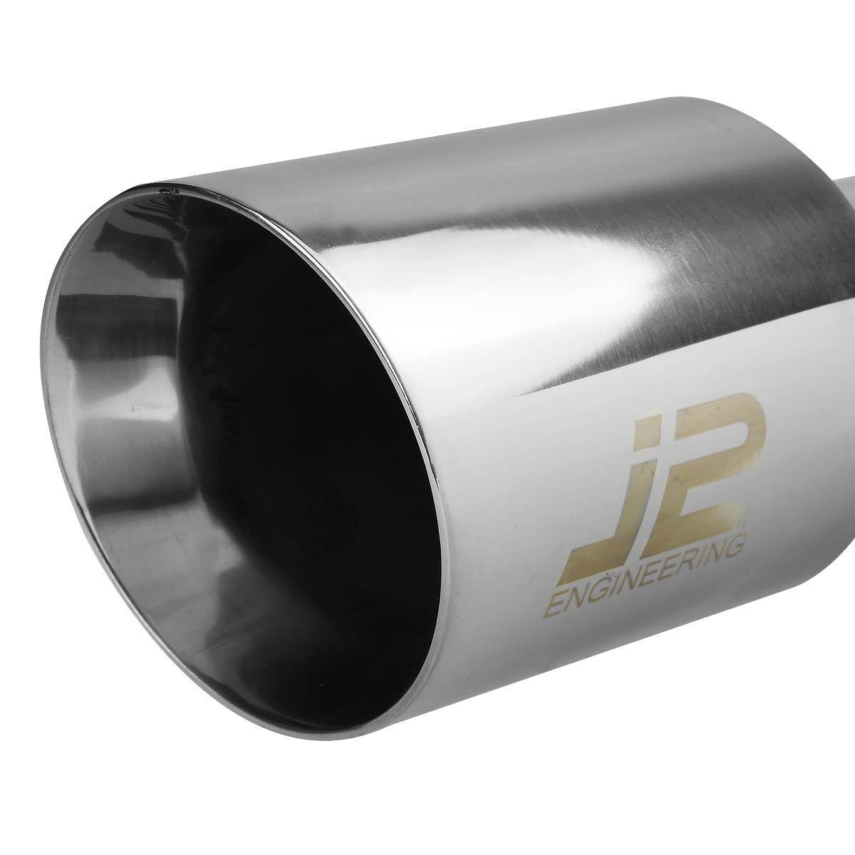 DNA Motoring J2 Engineering J2-CBE-003 Catback Exhaust System