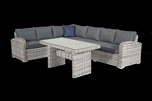 Grand Funda para mesa y sillas de jardín en resina trenzada ...