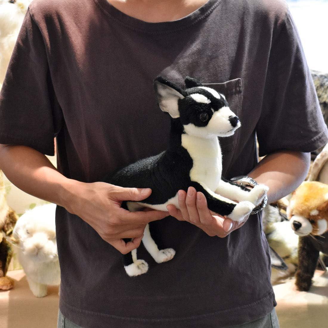 Hansa Chihuahua Plush Black//White