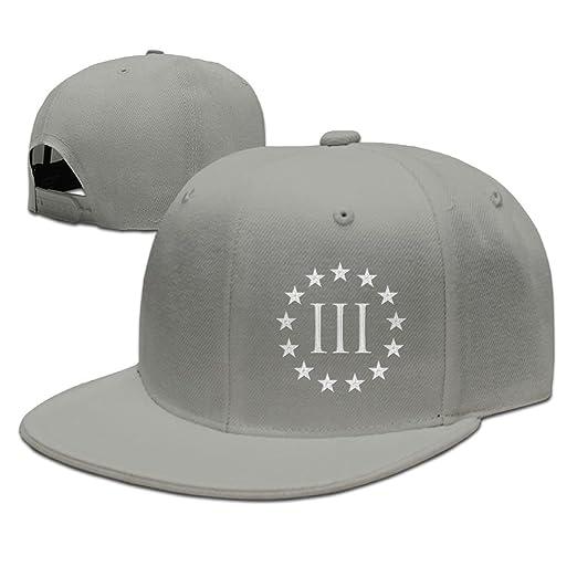 2147226ef3a GAMMAGU Vintage Molon Labe 3 Percenter III Embroidery Plain Baseball Hats  Trucker Hats