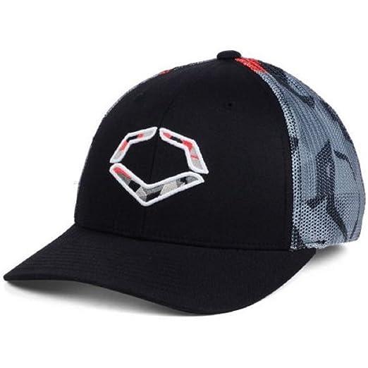 new product 0e284 93fe0 ... france evoshield shrapnel meshflex hat baseball cap black grey red  small medium f35fe b8285