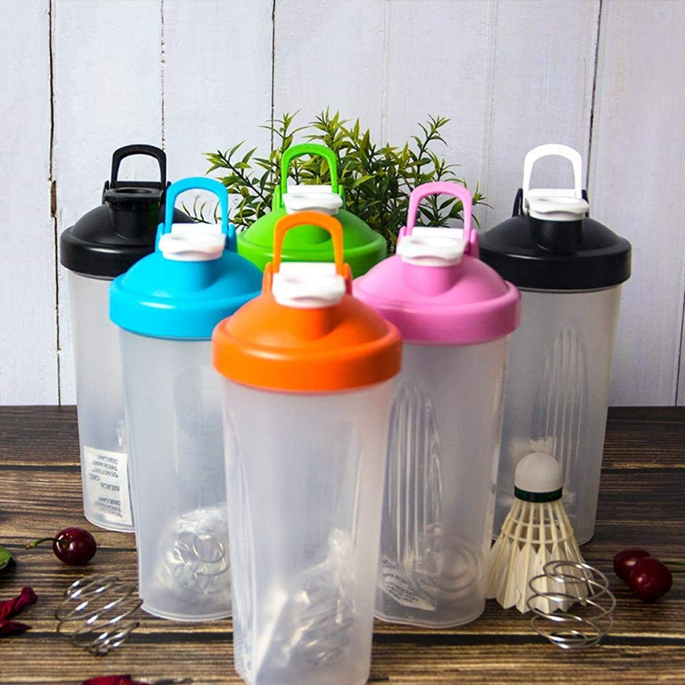 STED 600ml Creative Shaker Bottle Sports Whey Protein Powder Mixing Bottle With Stirring Ball Fitness Water Bottle BPA Free 01