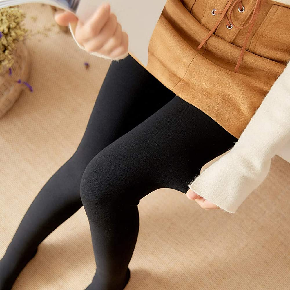 Watopi - Leotardos de algodón para Mujer, para otoño e Invierno, con lengüetas Finas Negro M: Amazon.es: Ropa y accesorios