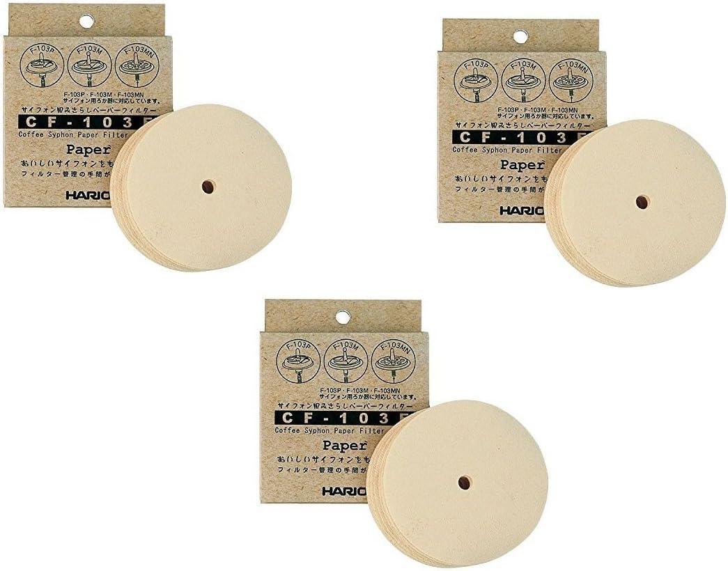 Hario 3X Paper Filter für Hario Siphon Exposed nur Cf-103E(300 Sheets) aus Japan