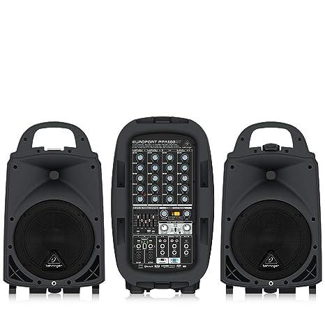Amazon.com: Amplificador BEHRINGER EUROPORT PPA500BT ...