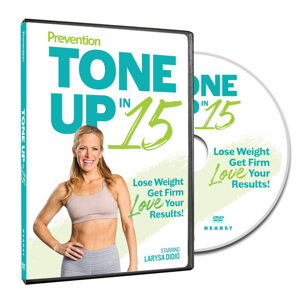 Prevention Tone Up in 15 DVD Get Fit 15-Minute Workouts to Lose Weight and Strengthen Your Total Body