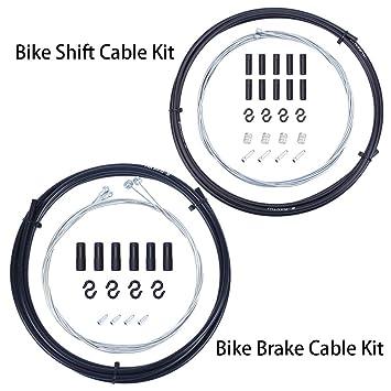 Amazon.com: Wolfride - Juego de cables de freno y cambio de ...