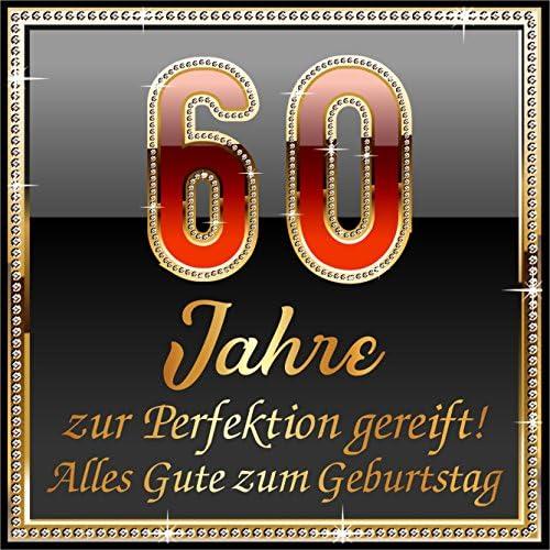 RAHMENLOS 3 St. Aufkleber Original Design: Selbstklebendes Flaschen-Etikett zum 60. Geburtstag: 60 Jahre zur Perfektion gereift!