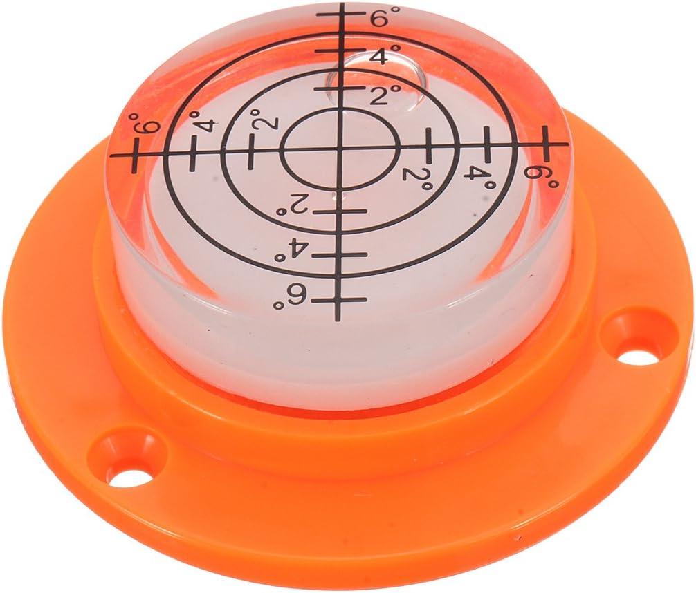VIDOO 50X17Mm Diam/ètre Disc Bubble Spirit Niveau Rond Cercle Circular Tripod Bullseye