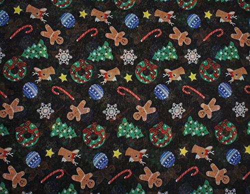 Vivian & Vincent Soft Light Elegant Merry Christmas Sheer Infinity Scarf C2