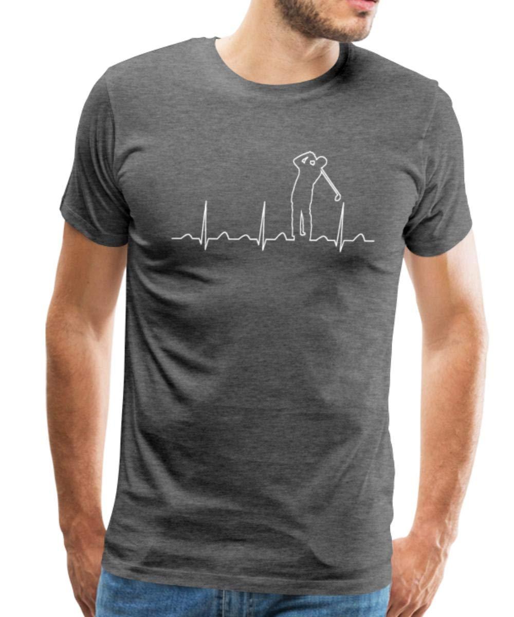 Spread Funny Golf Golfer Heartbeat Shirts