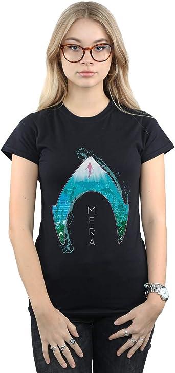 DC Comics Femme Aquaman Mera Ocean Logo Tank Top