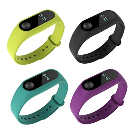 Correas de repuesto para pulsera inteligente Xiaomi MiBand 2 de Fit Power, no compatibles con