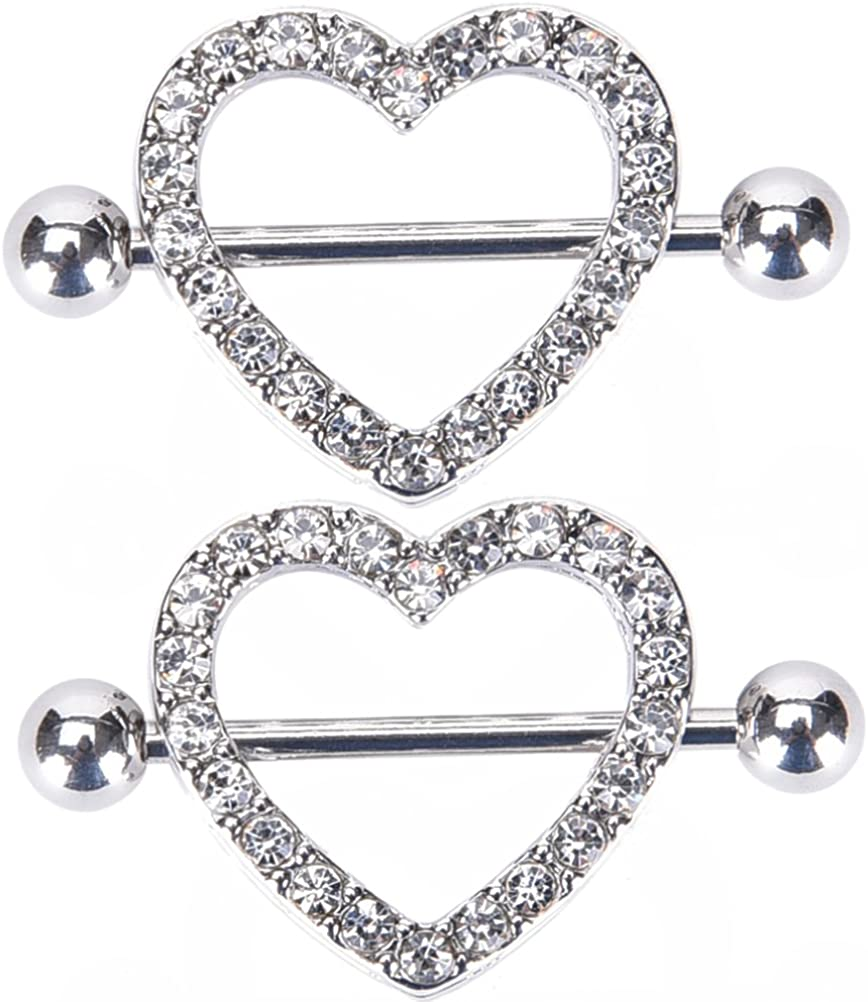 Amazon Com Irbingnii Nipple Rings For Women Nipple Piercings