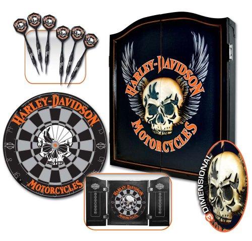 Superbe Amazon.com : Harley Davidson 3D Skull Darts Kit 61997 : Dartboard Cabinets  : Sports U0026 Outdoors